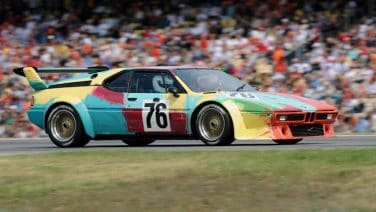 BMW M1 art car warhol