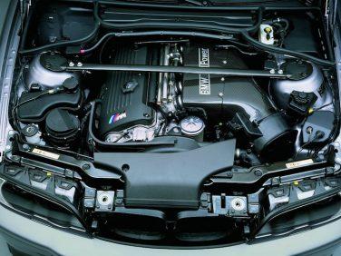 BMW E46 M3 CSL engine
