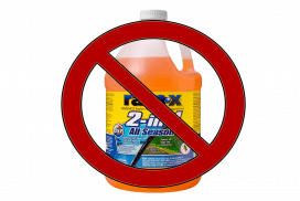 Don't use Rain-X Washer fluid in your BMW!