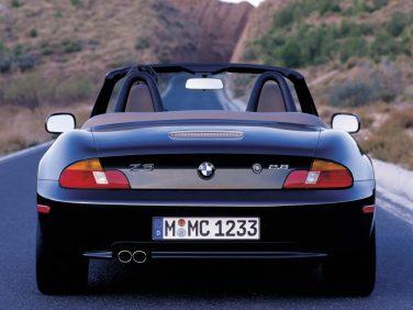 BMW Z3 2.8 rear