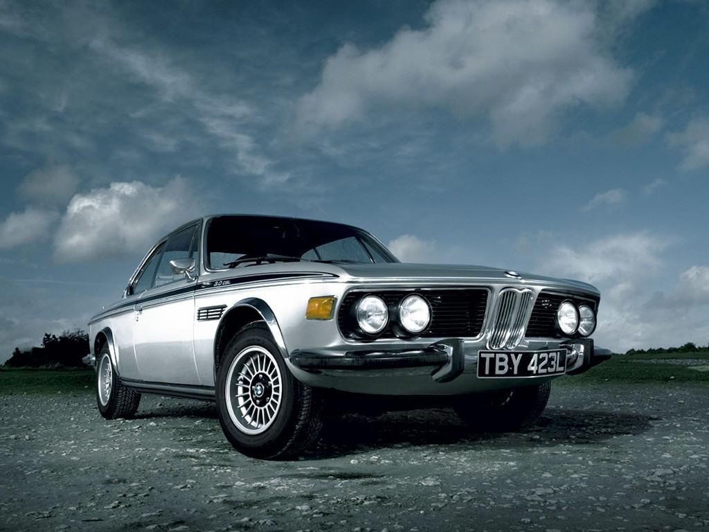 BMW E9 CSL Silver