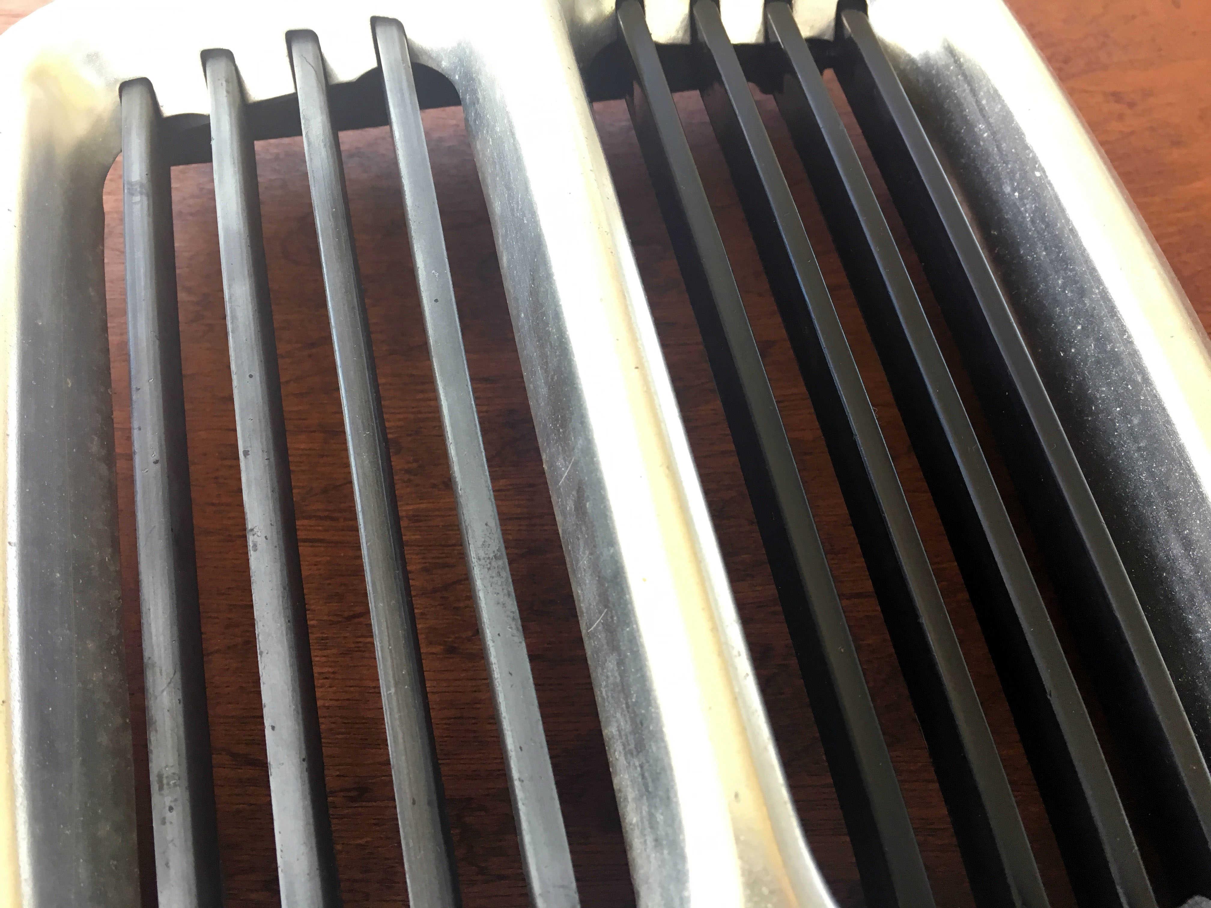 BMW E21 brill plastic restoration