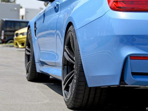 BMW F30 M4 wheel offset