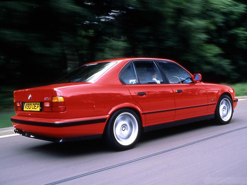 BMW E34 M5 Red
