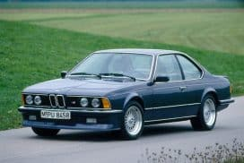 BMW E24 M6 / M635CSi OEM paint color options
