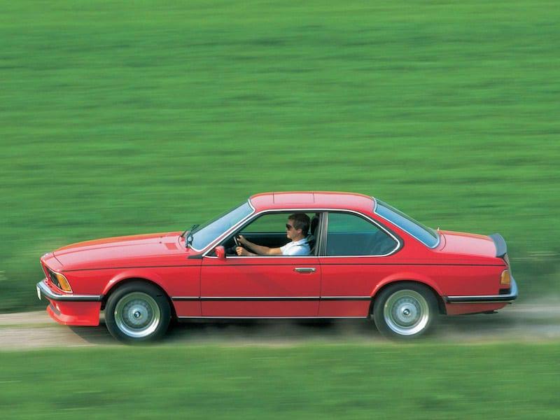 BMW E24 M6 M635CSi Red
