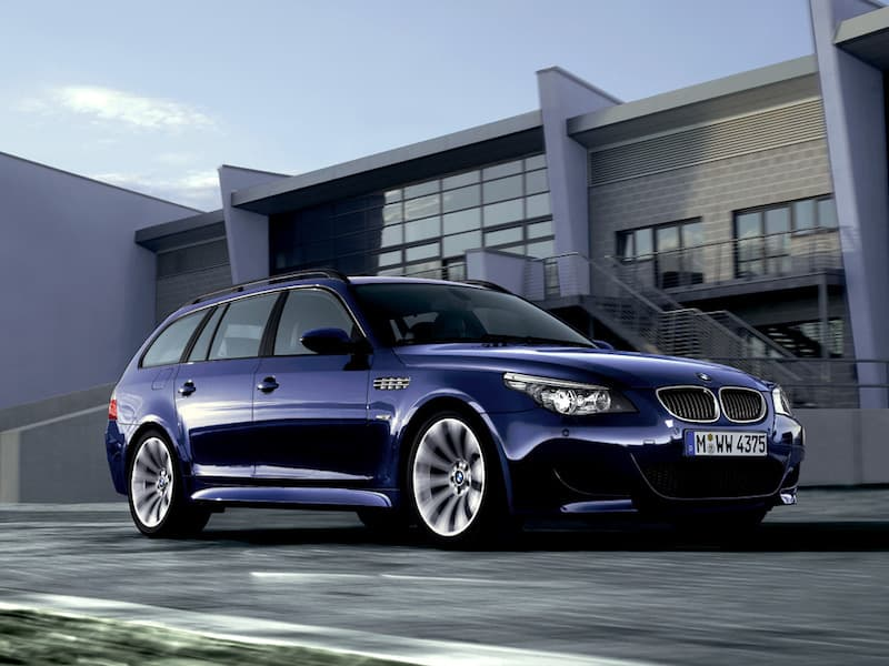 BMW E61 M5 Touring Interlagos Blue