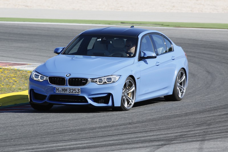 BMW F80 M3 Das Marina Blue Metallic