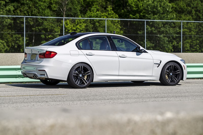 BMW F80 M3 Mineral White Metallic