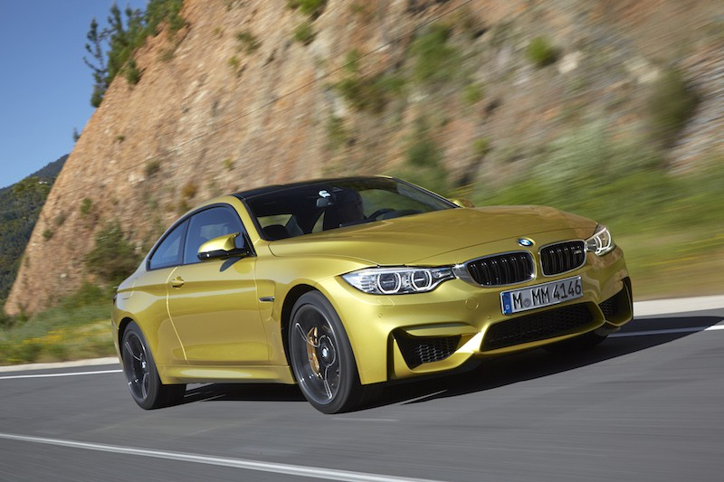 BMW F82 M4 Austin Yellow