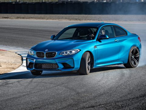 BMW M2 long beach blue metallic