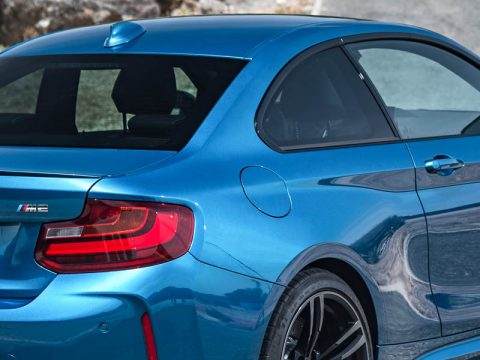 BMW M2 Fuel Door