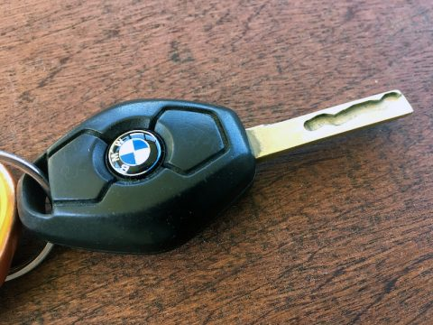 BMW key fob emblem roundel replacement part number