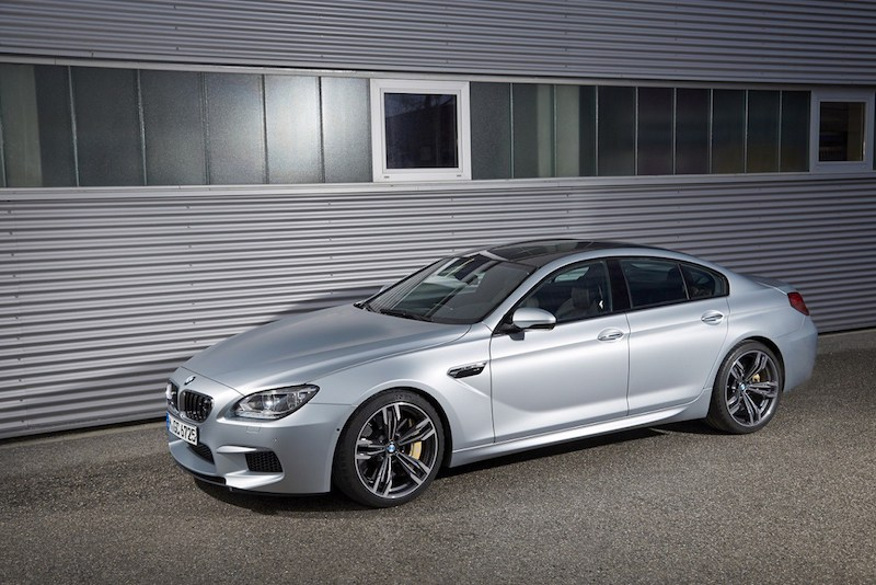 BMW F06 M6 Gran Coupe Silverstone Metallic
