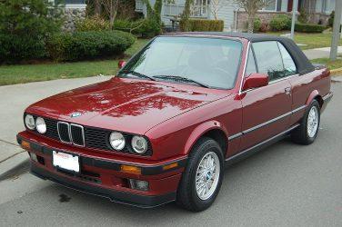 BMW E30 Calypso Red Metallic