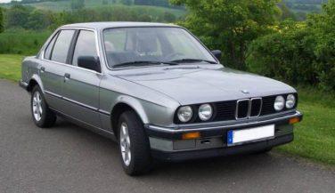 BMW E30 Salmon Silver Metallic 203