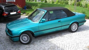 BMW E30 Neon Green Metallic 262