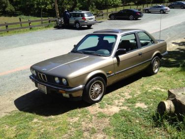 BMW E30 Bahama Biege Metallic 170