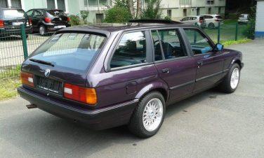 BMW E30 Daytona Violet Metallic 283