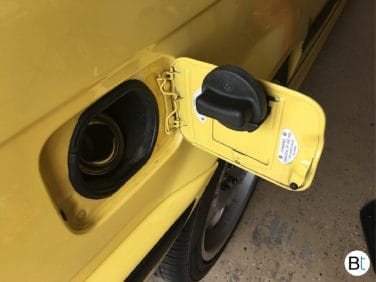 BMW E36 fuel cap holder