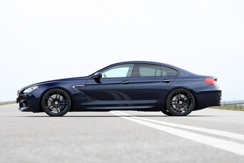 BMW F06 M6 Gran Coupe Tanzanite Metallic