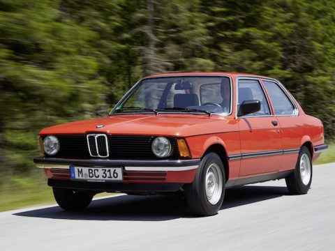 BMW E21 coupe
