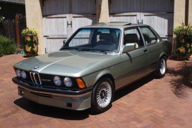 BMW E21 Opal Green
