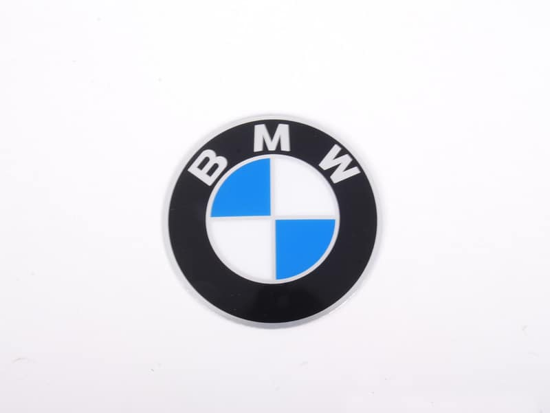 BMW stick on adhesive wheel emblem center cap