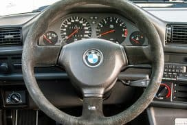 BMW sport steering wheel M badge / emblem replacement