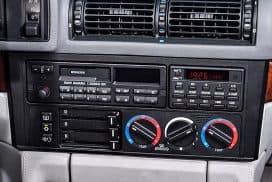BMW E30, E34 windshield defrost configuration settings