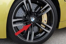 BMW Wheel M Emblem sticker replacement