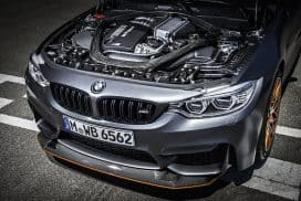 2016 BMW M4 GTS engine water injection