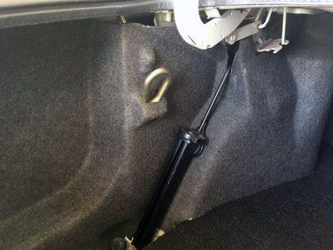 BMW E30 Tow Hook Storage
