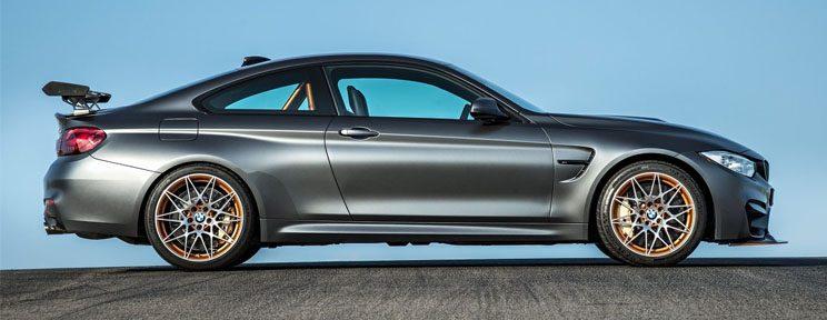 BMW M4 GTS Side View