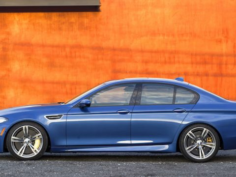 BMW F10 M5 Monte Carlo Blue Metallic