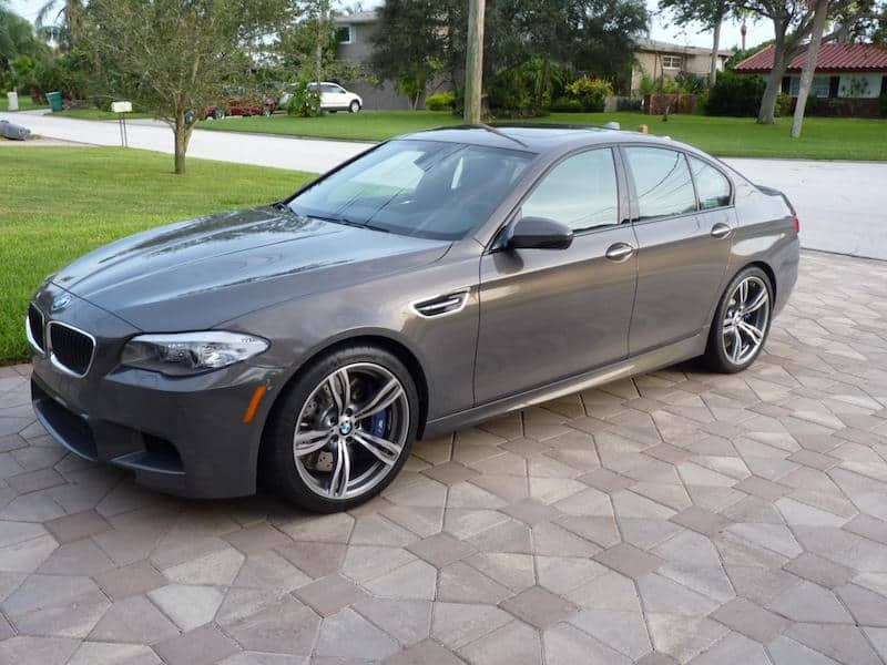 BMW F10 M5 Champagne Quartz Metallic