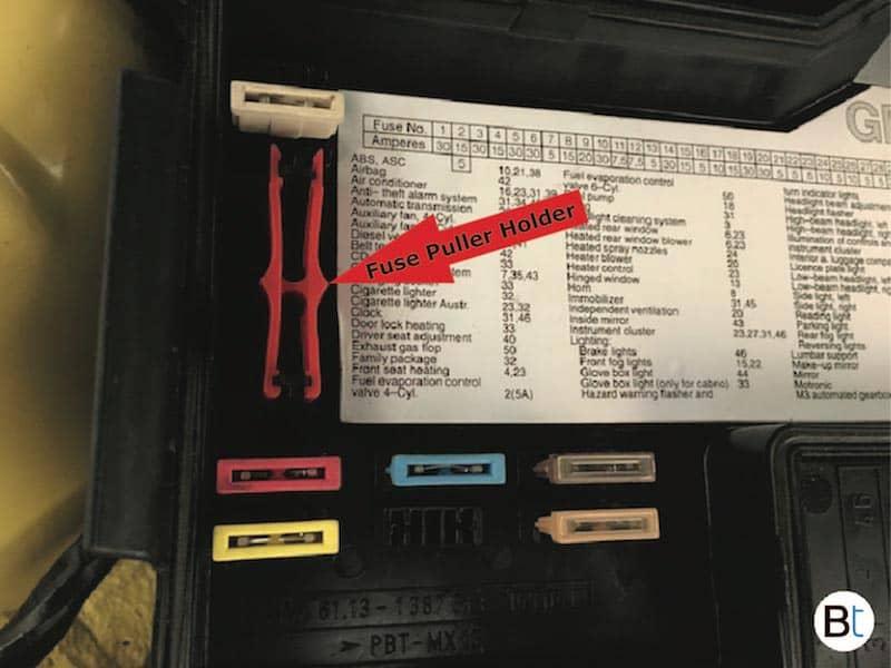 OEM BMW Fuse puller E36