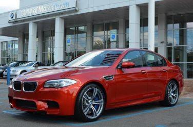 BMW F10 M5 Sakhir Orange
