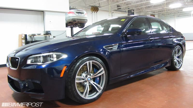 BMW F10 M5 Tanzanite Blue Metallic