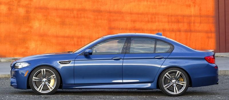 BMW F10 M5 Monte Carlo Blue