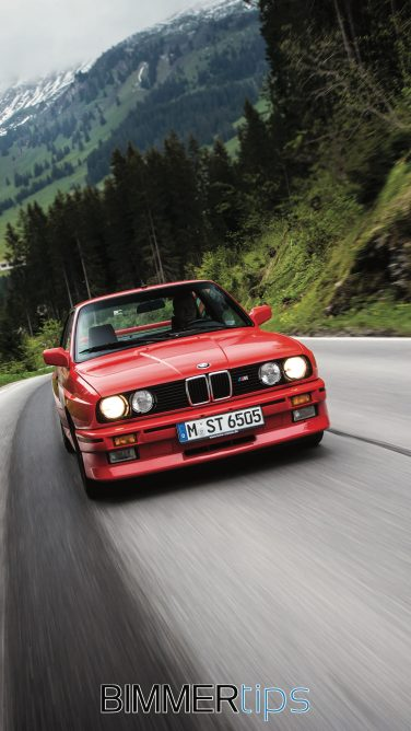 BMW E30 M3 iPhone wallpaper android
