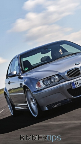 BMW E46 M3 CSL smartphone wallpaper