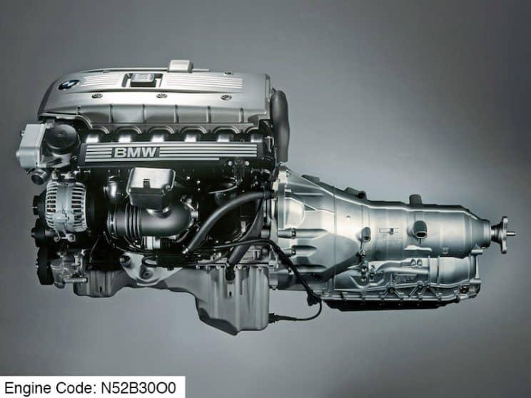 BMW N52B30O0 Engine code meaning