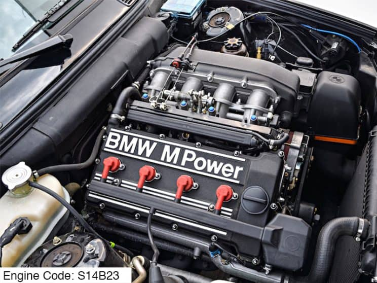 BMW S14B23 Engine code meaning decode