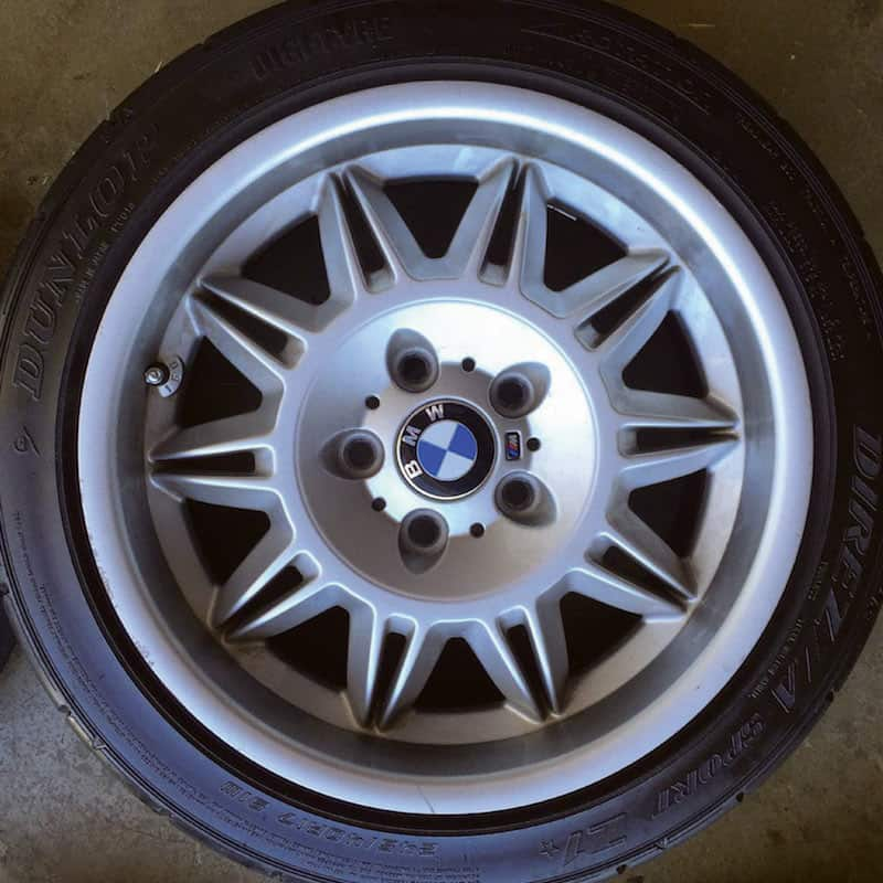 OEM BMW E36 M3 Wheel Options, Specs
