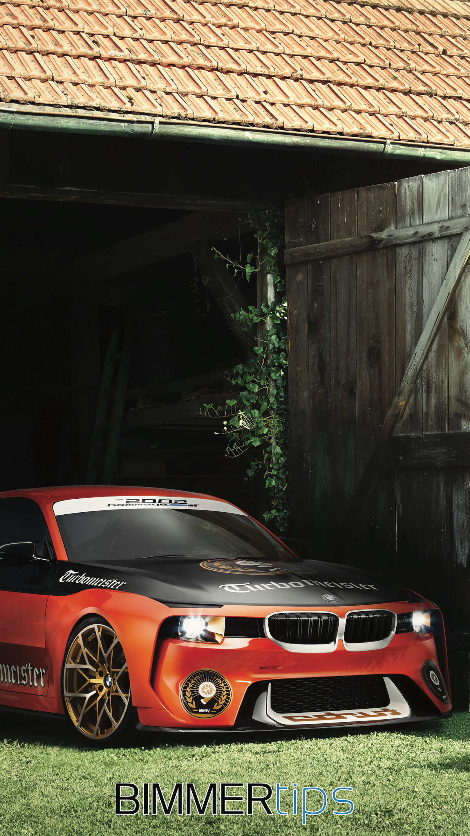 BMW 2002 Hommage wallpaper iPhone android