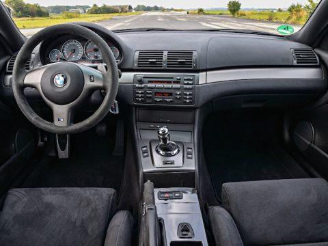 BMW E46 M3 CSL interior