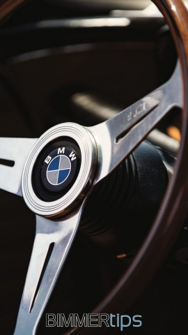 BMW E9 iPhone Android Wallpaper