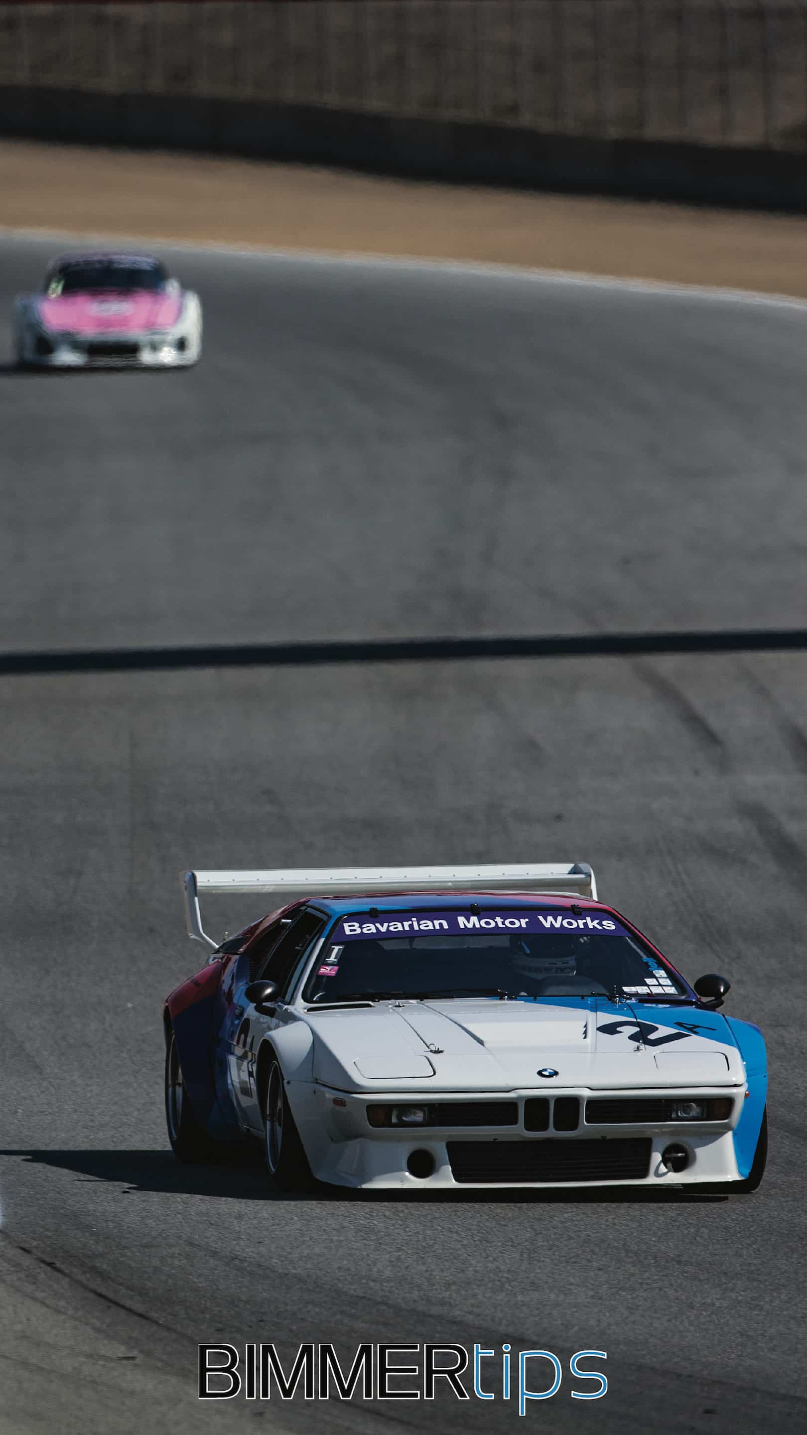 BMW M1 procar iPhone android wallpaper