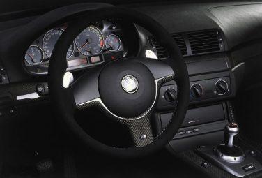 BMW E46 M3 CSL radio delete panel